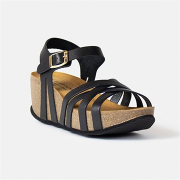 Mable Sandal Fra RE:DESIGNED - Black
