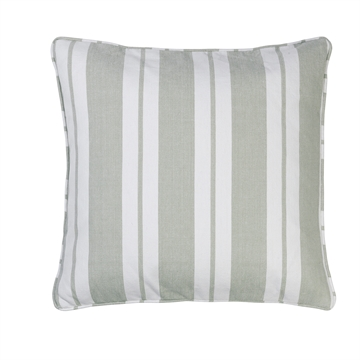 Cozy Living - Nordic Striped Pude - Moss