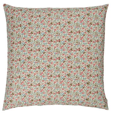 Ib Laursen - Pude 60x60cm - Rosa blomster
