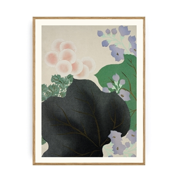 Spliid - Flowers & Leaves - Plakat -  50x70cm